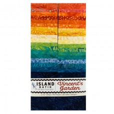 """Island Strip Pack from Island Batik - (40) 2 1/2"""" Strips - Vincent's Garden Collection"""