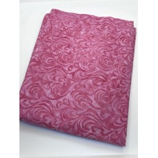 BOLT END - Island Batik 11201335 - Hearts and Swirls on Pink - 1 2/3 yd