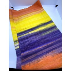 BOLT END - Indonesian 7725M Orange Yellow Purple Ombre  - 42 Inches