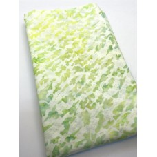 BOLT END - Indonesian 9290H Lime Green Print - 50 Inches