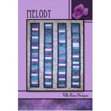 Melody pattern card by Villa Rosa Designs - Jelly Roll Friendly Pattern