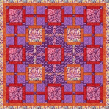 Backroads pattern by Stitchin Tree - Half Yard Friendly Color Pattern printed to order