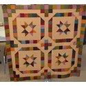 Don't Fence Me In pattern by Stitchin Tree - Queen or Wall Sized - Scrap Friendly Color Pattern printed to order
