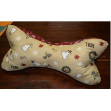 Dog Bone Neck Pillow pattern by Stitchin Tree - Fat Quarter Friendly Color Pattern printed to order