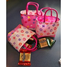 Goodie Bags pattern by Stitchin Tree - Fat Quarter Friendly Color Pattern printed to order
