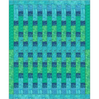 Raindrops pattern by Stitchin Tree - Half Yard Friendly  Color Pattern printed to order
