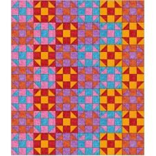Shoo Box pattern by Stitchin Tree - Half Yard Friendly Color Pattern printed to order
