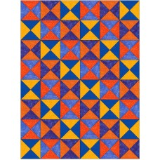 Spilled Salt pattern by Stitchin Tree - Half Yard Friendly Color Pattern printed to order