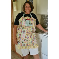 Twice Baked Apron pattern by Stitchin Tree Color Pattern printed to order
