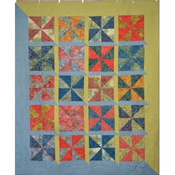 Wind through the Windows pattern by Stitchin Tree - Layer Cake Friendly Color Pattern printed to order