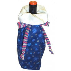 Wine Tote pattern by Stitchin Tree - Fat Quarter Friendly Color Pattern printed to order