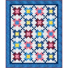 FREE Robert Kaufman Summer Stars Pattern