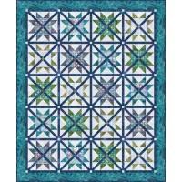 FREE Robert Kaufman Caged Stars Pattern