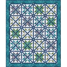 FREE Robert Kaufman Caged Stars Pattern
