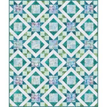 FREE Robert Kaufman Rosy Stars Pattern