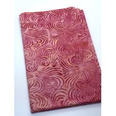 BOLT END - Majestic Batik Popsicle 885 - Pink Lines- 1/2 YARD