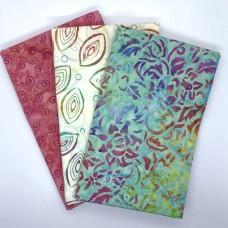 3 Yard Batik Bundle 3YD211 - Turquoise Pink White