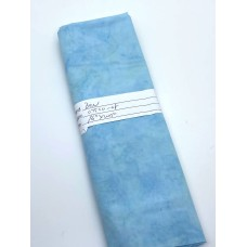 REMNANT - Benartex Batik - 07520-08 Turquoise Blender - 16 Inches x WOF