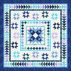 FREE Robert Kaufman Watercolor Blossoms Medallion March Pattern
