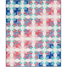 FREE Robert Kaufman Watercolor Blossoms Waves Pattern