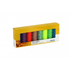 Mettler Neon Collection - 8 spools of Polyester Thread
