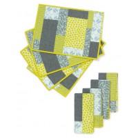 FREE Robert Kaufman Colorblock Placemats Pattern