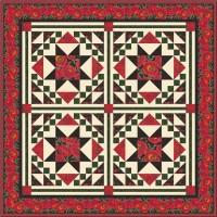 FREE Timeless Treasures Poppy Grove Mosaic Pattern