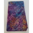 2 Hour Table Runner Kit  - Bright Tones with a Purple Background