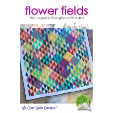 Flower Fields pattern by Cozy Quilt Designs - Jelly Roll Friendly