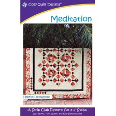 Meditation pattern by Cozy Quilt Designs - Jelly Roll Friendly