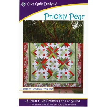 Prickly Pear pattern by Cozy Quilt Designs - Jelly Roll Friendly