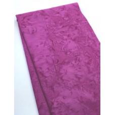 BOLT END - Benartex Batik 07520-27  - Pink Solid - 21 Inches