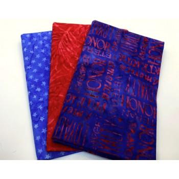 3 Yard Batik Bundle 3YD155 - Freedom