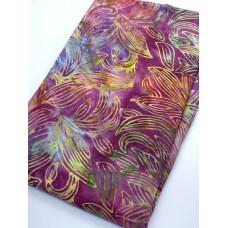BOLT END - Timeless Treasures Batik B7670 - Punch - Multicolor on Pink - 1 1/2 yd