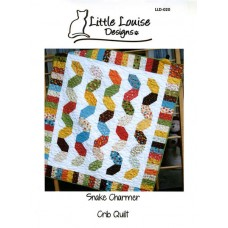 Snake Charmer pattern by Little Louise Designs - 6 Pack, Fat Qtr or Charm Pack Friendly