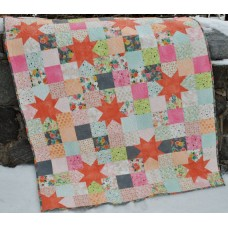 Starry Night pattern by Sweet Jane's - Charm, Layer Cake, Fat Quarter, or Scrap Friendly Pattern