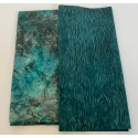 2 Hour Table Runner Kit  - Autumn Tones with a Teal Background