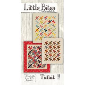 Little Bites Tidbit pattern (3 sizes) by Miss Rosie's Quilt Co. - Mini Charm/Scrap Friendly Pattern