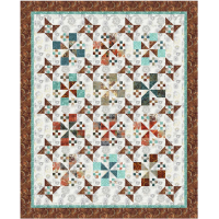 FREE Timeless Treasures Tonga Copper Star Studded Ladies Pattern