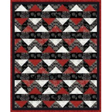 FREE Timeless Treasures Tonga Rose Tobasco Splash Pattern