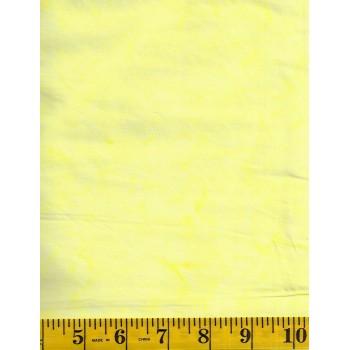Anthology Batik 1401.3 Light Yellow Mottled Solid Blender Batik