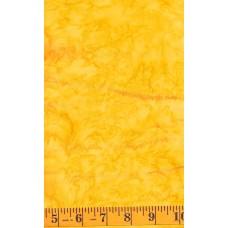 Anthology Batik 1404.1 Bright Yellow Mottled Solid