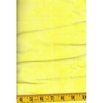 Anthology Batik 1418.2 Bright Yellow Mottled Solid Blender Batik