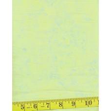 Anthology Batik 1435.1 Light Yellow Green Mottled Solid