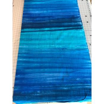 Anthology Batik 15120 - Blue & Turquoise Gradiated Batik