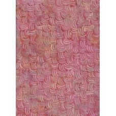 Batik Textiles 2015 - Pink Basket Weave Pattern on a Magenta Background