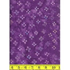 Batik Textiles 4202 Blue/Pink/Peach Diamonds on Purple