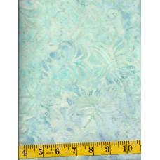 Benartex Batik 04703-05 Pale Aqua Grace Batik