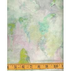 Cantik Batik 1058-743 - Orcas on Light Green, Pink & Blue