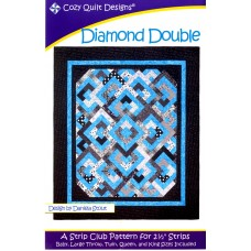 Diamond Double pattern by Cozy Quilt Designs - Jelly Roll & Scrap Friendly